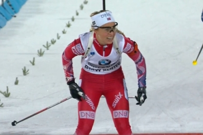 Eckhoff and Tandrevold competed with skiers